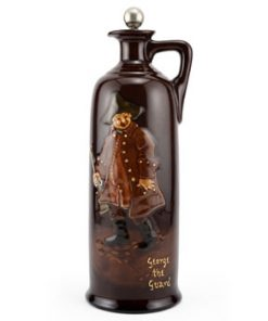 George The Guard Bottle, Large - Royal Doulton Kingsware