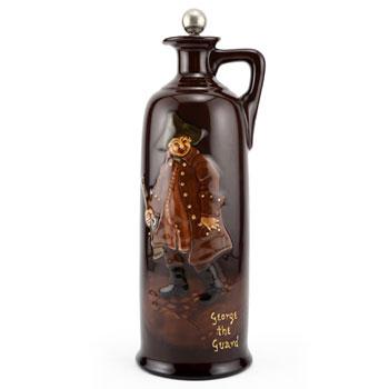 George The Guard Bottle, Large - Royal Doulton Kingsware