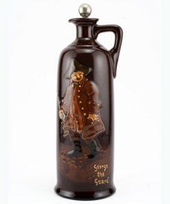 George The Guard Bottle, Medium - Royal Doulton Kingsware