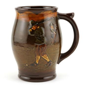 Golfing Tankard - Royal Doulton Kingsware