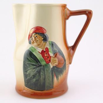 Hogarth Airbrush Pitcher - Royal Doulton Kingsware