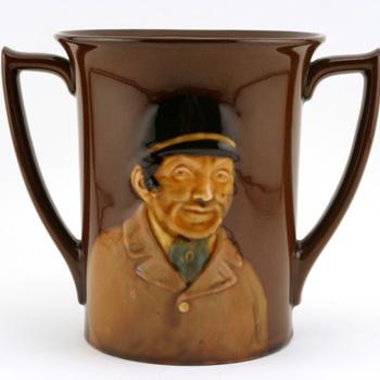 Huntsman Loving Cup - Royal Doulton Kingsware