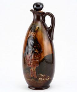 Macnab Bottle with Stopper - Royal Doulton Kingsware