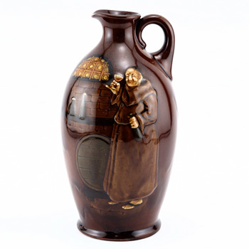 Monk Bottle - Royal Doulton Kingsware