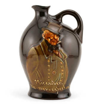 Micawber The Ever Expectant - Royal Doulton Kingsware