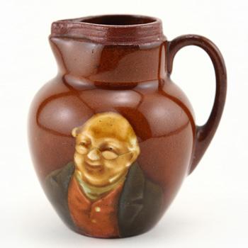 Mr Pickwick Mini Pitcher - Royal Doulton Kingsware
