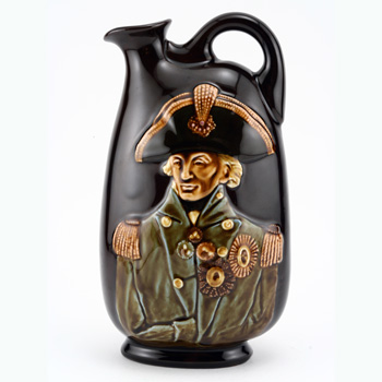 Nelson Flask - Royal Doulton Kingsware