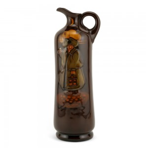 Night Watchman Bottle, Large - Royal Doulton Kingsware