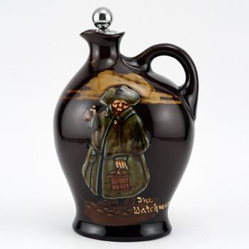 Night Watchman Bottle, Medium - Royal Doulton Kingsware