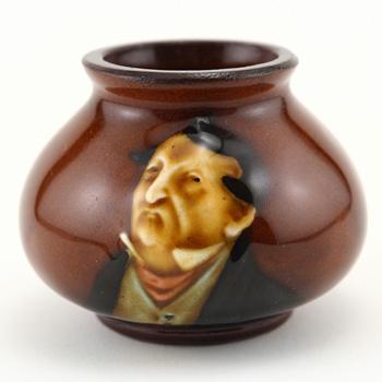 Pecksniff Vase Miniature - Royal Doulton Kingsware