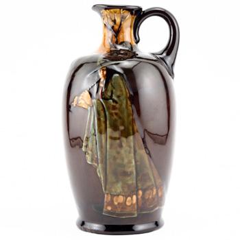Pied Piper Bottle - Royal Doulton Kingsware