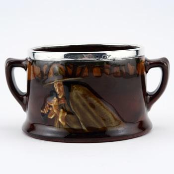 Pied Piper Sugar Bowl (Double Handled) - Royal Doulton Kingsware
