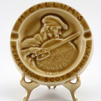 Queensware McCallum Ashtray - Royal Doulton Kingsware