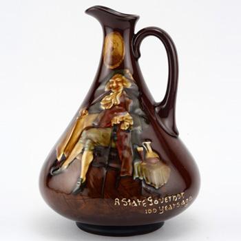 State Governor Bottle - Royal Doulton Kingsware