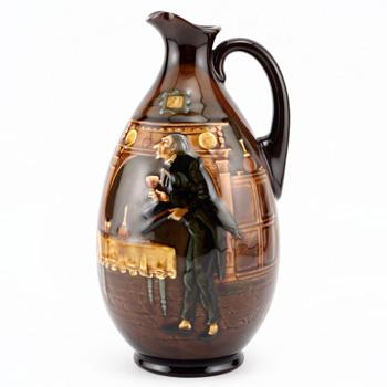Stiggins Bottle - Royal Doulton Kingsware