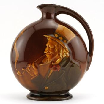 Uncle Sam Bottle - Royal Doulton Kingsware