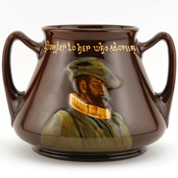 Vase Twin Handle - Royal Doulton Kingsware