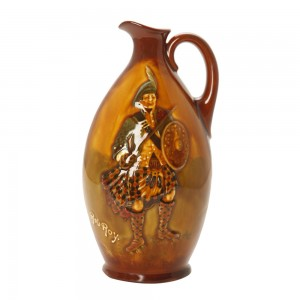Rob Roy Flask 9H - Royal Doulton Kingsware