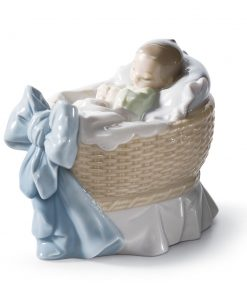 A New Treasure (Boy) 01006976 - Lladro Figurine