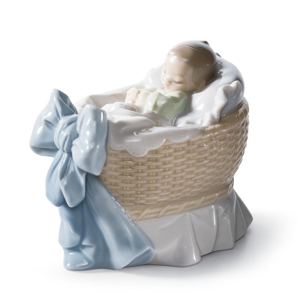 A New Treasure (Boy) 01006976 - Lladro Figurine