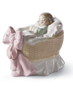 A New Treasure (Girl) 01006977 - Lladro Figurine