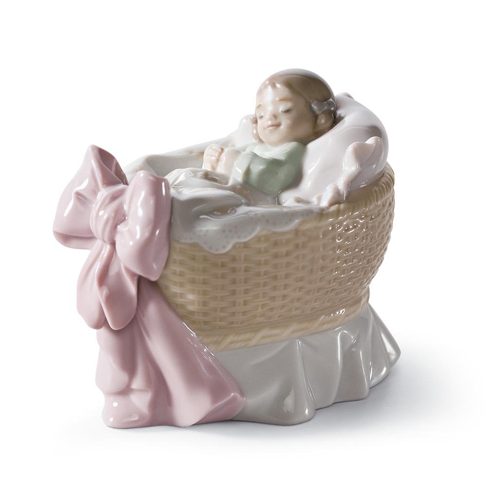 A New Treasure (Girl) 01006977 - Lladro Figurine
