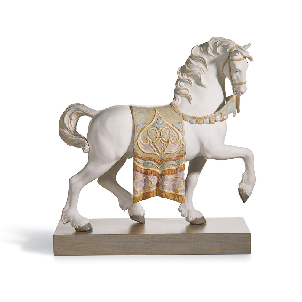 A Regal Steed 01012497 - Lladro Figurine