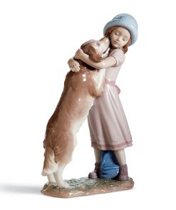 A Warm Welcome 01006903 - Lladro Figurine