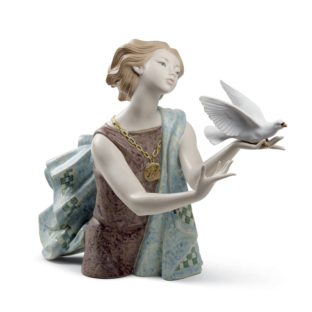 Allegory of the Peace 01008684 - Lladro Figurine - 60th Anniversary Collection