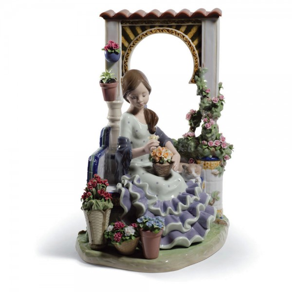 Andalusian Spring 01001964 - Lladro Figurine