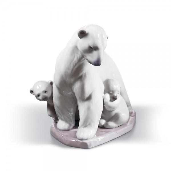 Arctic Family 01006745 - Lladro Figurine