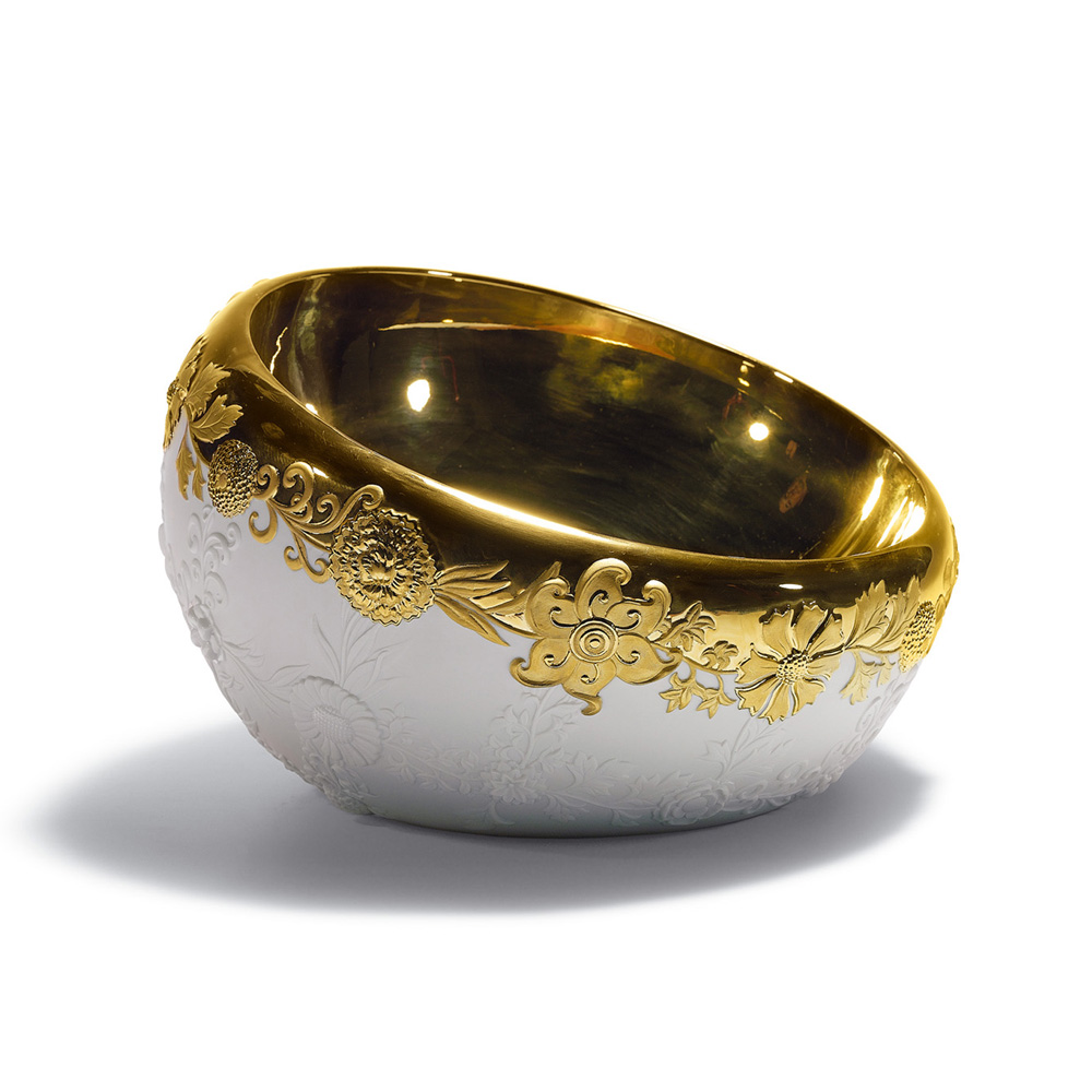 Bowl (Golden) 01007923 - Lladro Bowl