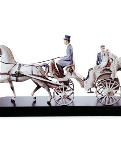 Bridal Carriage 01001932 - Lladro Figurine