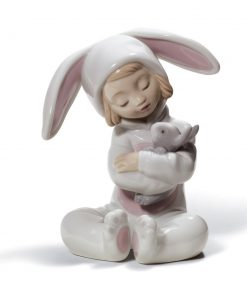 Bunny Hugs 01008538 - Lladro Figurine