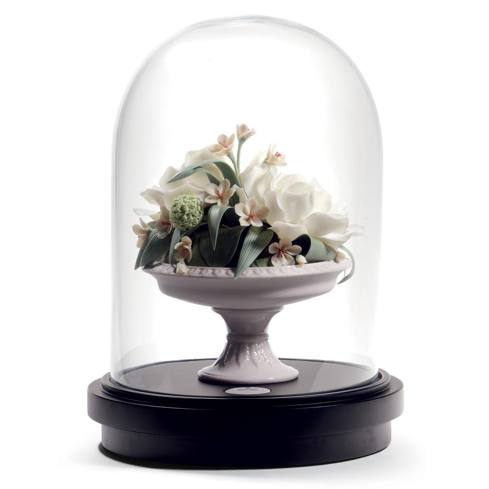 Camellia Centerpiece 1008653 - Lladro Centerpiece