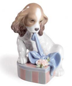 Cant Wait 01008312 - Lladro Figurine