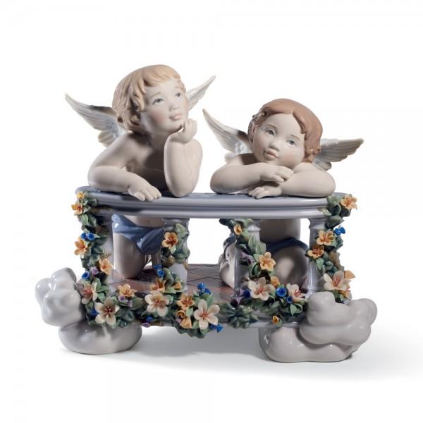 Celestial Balcony - Lladro Figurine