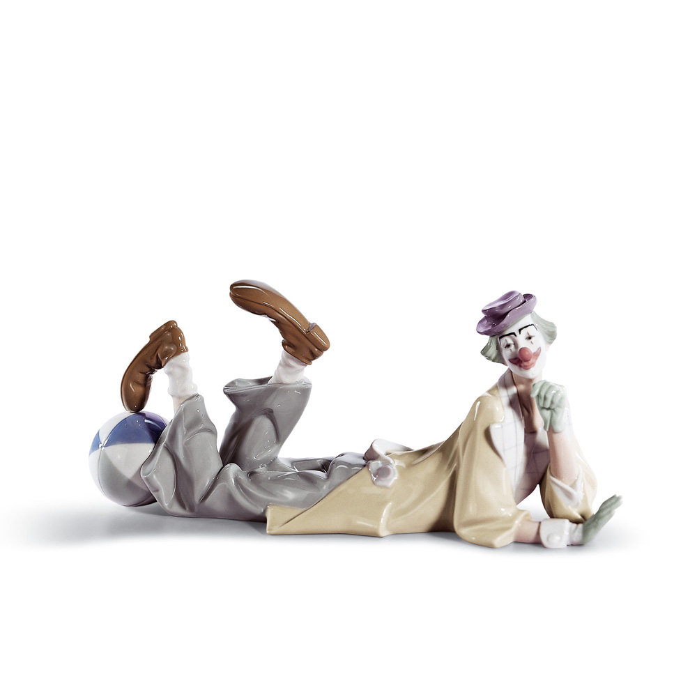 Clown 01004618 - Lladro Figurine