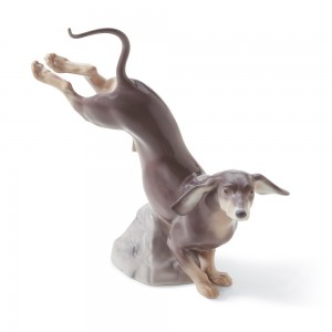 Dachshund 01008317 - Lladro Figurine