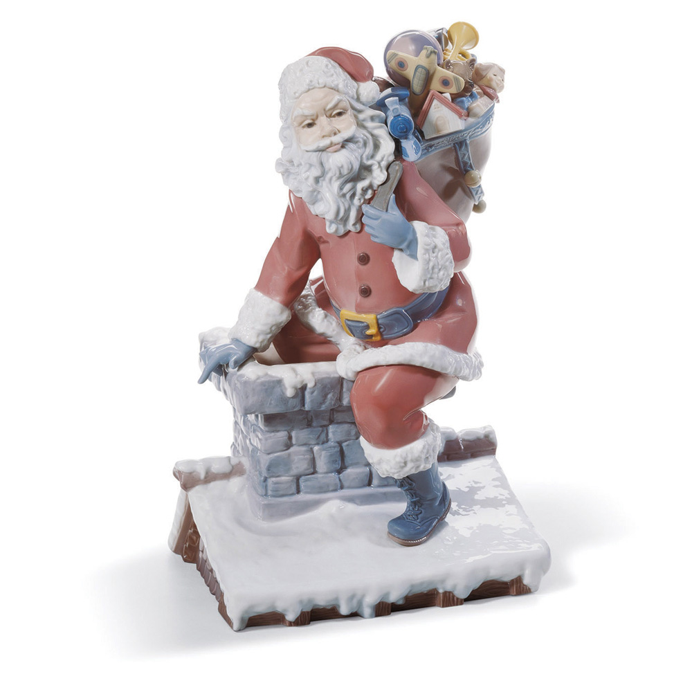 Down the Chimney 01001931 - Lladro Figurine