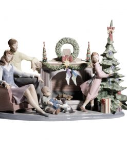 Family Christmas 01008260 - Lladro Figurine