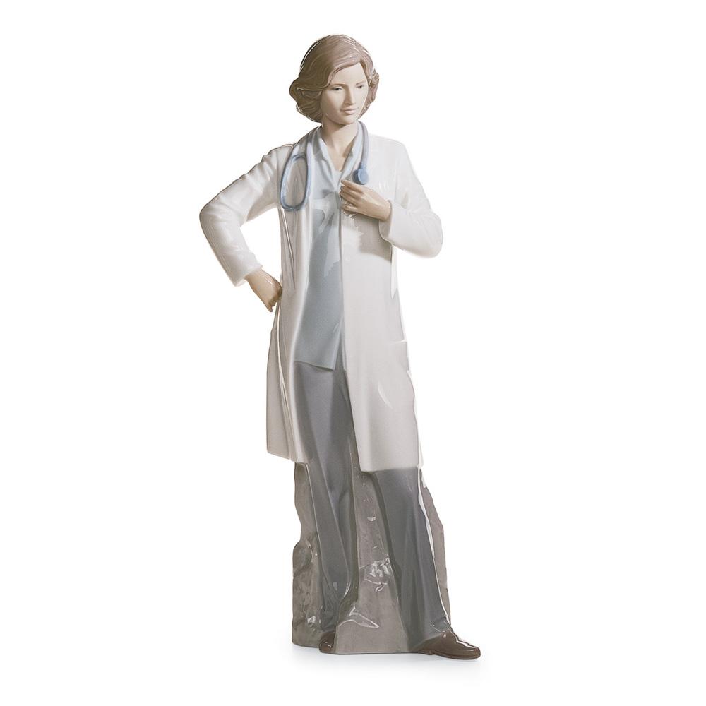 Female Doctor 01008189- Lladro Figurine