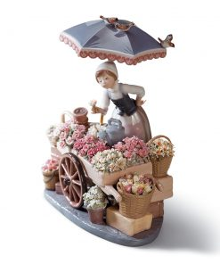 Flowers Of The Season 01001454 - Lladro Figurine