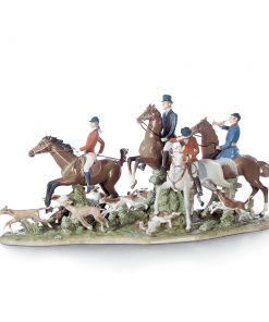 Fox Hunt 01005362 - Lladro Figurine