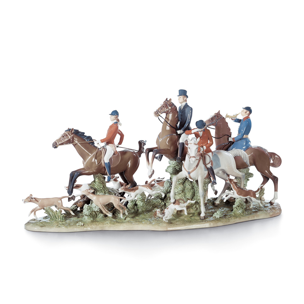Fox Hunt 01005362 - Lladro Figurine