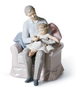 Grandfather's Stories 01006979  - Lladro Figurine