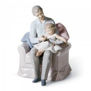 Grandfather's Stories 01006979  - Lladro Figurine