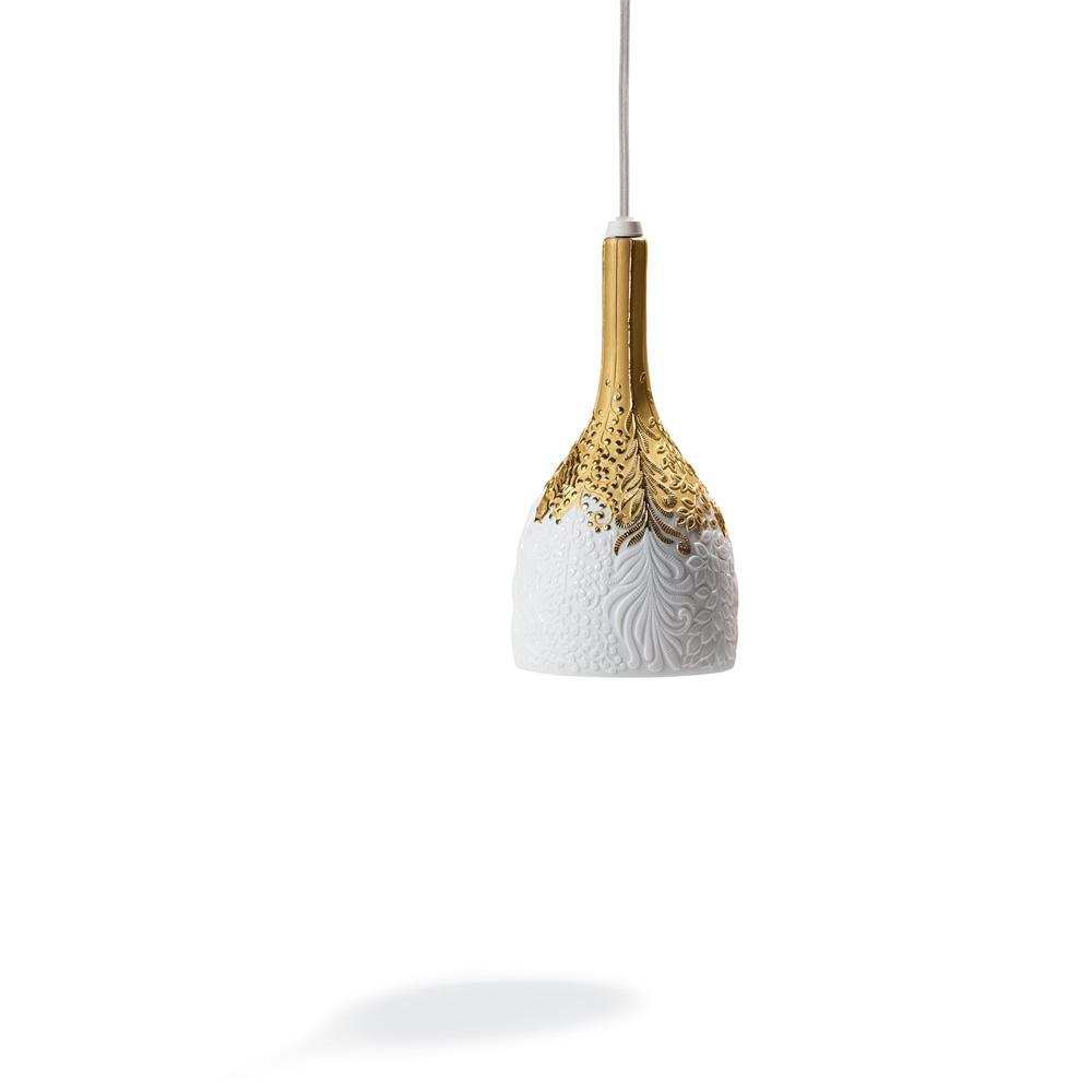 Hanging Lamp (Golden) 01007933 - Lladro Lamp