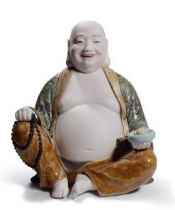 Happy Budda 01008566 - Lladro Figurine