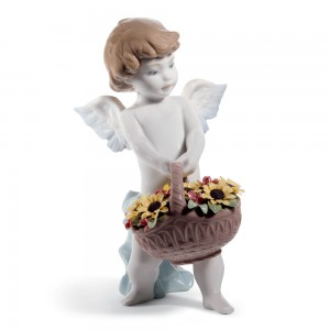 Heaven's Harvest 01008676 - Lladro Figurine - 60th Anniversary Collection